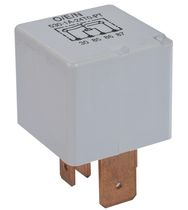 6 Vdc electromechanical relay / 48 Vdc / plug-in / power