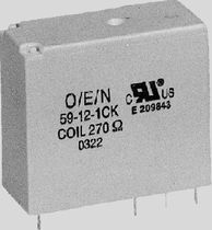 Electromechanical relay / power / miniature / for printed circuit boards