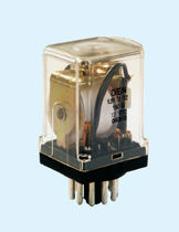 DC electromechanical relay / AC / plug-in / octal