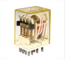 Electromechanical relay / control / control / plug-in