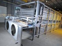 Air cooler / for the food industry / tubular