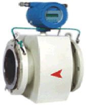 Electromagnetic flow meter / for slurry / for water / in-line