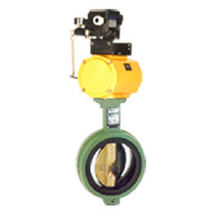 Butterfly valve / electric / control / regulating