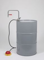 Solvent pump / foot-operated / semi-submersible / explosion-proof