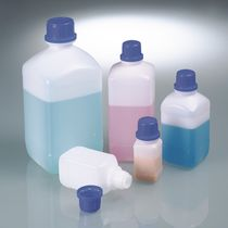 HDPE vial / for laboratories