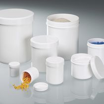 Polypropylene vial / with cap / sample preparation / for laboratories