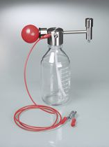 Solvent pump / manual / miniature / filling