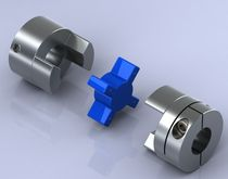 Jaw coupling / flexible