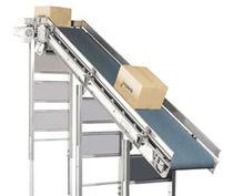 Belt conveyor / horizontal / transport