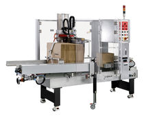 Automatic case erector / hot-melt glue / stapling / adhesive tape