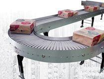 Roller conveyor / modular / horizontal / transport