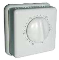 Room thermostat / adjustable