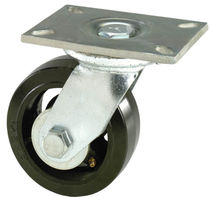 Swivel caster / base plate / high load capacity / monobloc