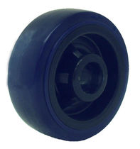Wheel with solid tire / polyurethane-coated / polypropylene / non-marking