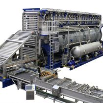 Process sterilizer / steam / horizontal / automatic