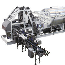 Process sterilizer / steam / rotary / horizontal