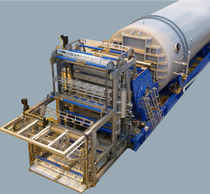 Process sterilizer / steam / horizontal / for the food industry