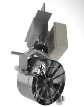 Ceiling-mounted fan / axial / high-pressure / misting