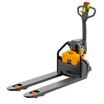 Electric pallet truck / multifunction / narrow / for light-duty applications