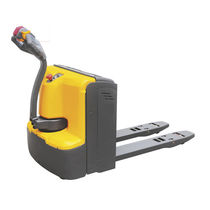 Electric pallet truck / multifunction / with brake