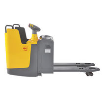 Electric pallet truck / with rider platform / stand-on / multifunction