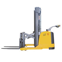 Electric stacker truck / walk-behind / for warehouses
