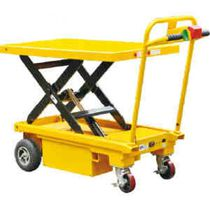 Scissor lift table / hydraulic / electric / foot-operated