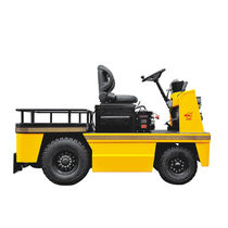 Electric tractor / 4-wheel / ride-on / explosion-proof