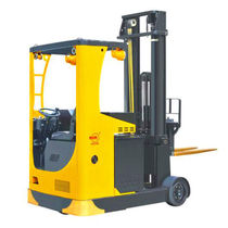Electric reach truck / side-facing seated / industrial / explosion-proof