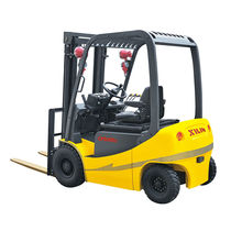 Electric forklift / ride-on / 4-wheel / explosion-proof