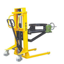Manual stacker truck / walk-behind / for drums