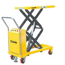 Scissor lift table / hydraulic / electric / mobile