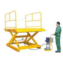 Scissor lift table / hydraulic / loading dock