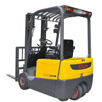 Electric forklift / ride-on / handling / 3-wheel