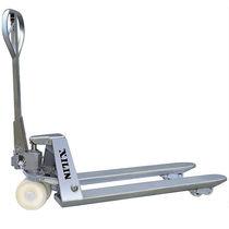 Hand pallet truck / multifunction / stainless steel