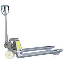 Hand pallet truck / multifunction / galvanized steel