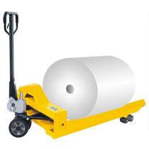 Hand pallet truck / multifunction / handling / for coils