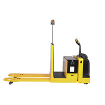 Electric pallet truck / stand-on / multifunction