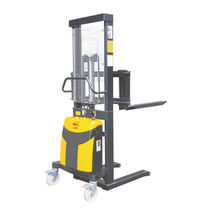 Semi-electric stacker truck / walk-behind / explosion-proof