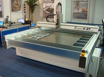 CNC router / 3-axis / 1-spindle / steel