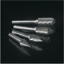 End mill milling cutter / solid / burr / tungsten carbide