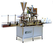 Bottle filling machine / automatic / multi-head / for liquids