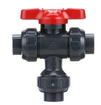Ball valve / manual / control / in plastic