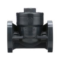 Swing check valve / flange / plastic