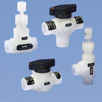 Needle valve / manual / PVDF / for process applications