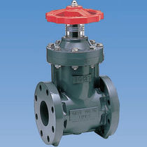 Gate valve / shut-off / manual / flange