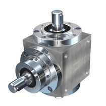 Bevel gear reducer / orthogonal / transmission / high-torque