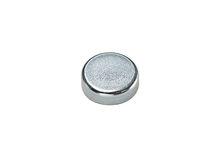 Flat pot holding magnet / neodymium / ferrite / samarium-cobalt