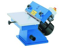 Grinding deburring machine / edge sanding machine / for sawing burrs / straight edges