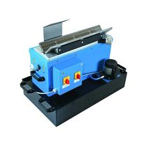 Manual grinding machine / edge / deburring / stationary